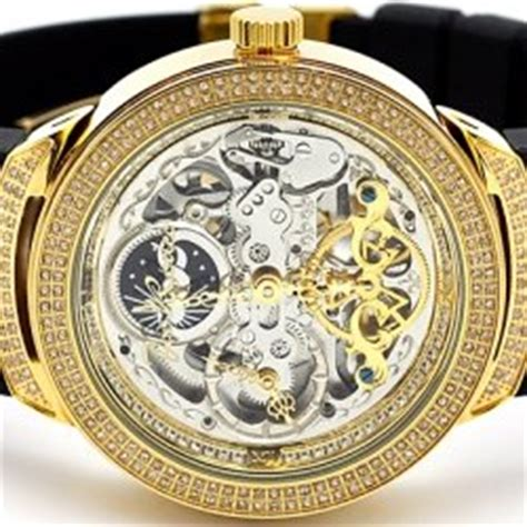 Rolex Skeleton Aoutomatic Chain sterling silver jewelry gold chains watches