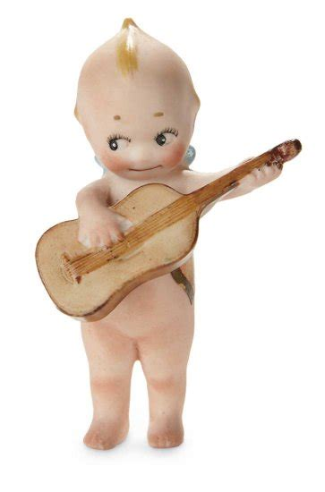 kewpie with guitar german all bisque kewpie with auctions proxibid