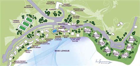 tiara resort map larger pictures of la samanna villas 3 or 4br terres