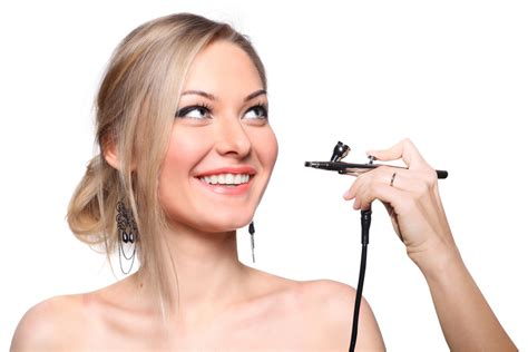 Airbrush Make Up iwata airbrush makeup kit review allbeauty news