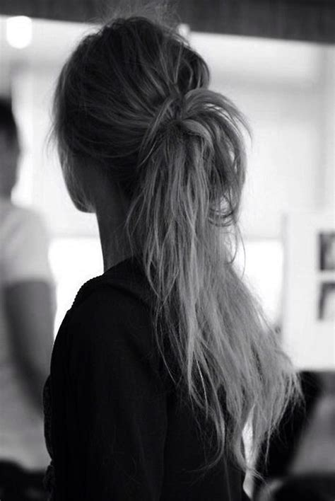 hairstyles ponytails and buns messy pony hairstyles pinterest pony foxes and bun hair