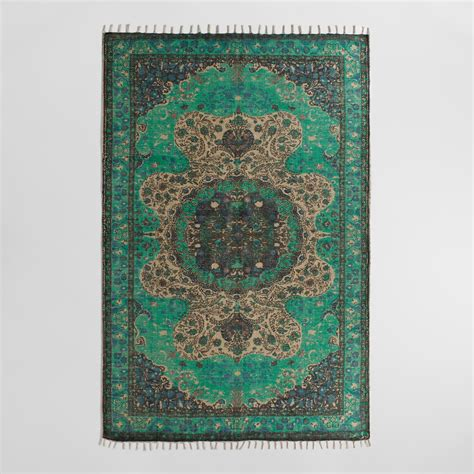 world rugs blue jute soha area rug world market