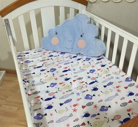 Fitted Sheet For Crib Mattress Nursery Toddler Baby Crib Fitted Sheet Cot Bedding Sheets Mattress Pads Covers Ebay