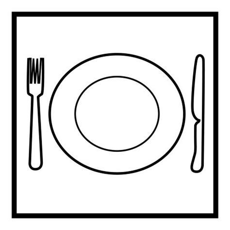 imagenes para colorear plato del buen comer dibujo de un plato imagui