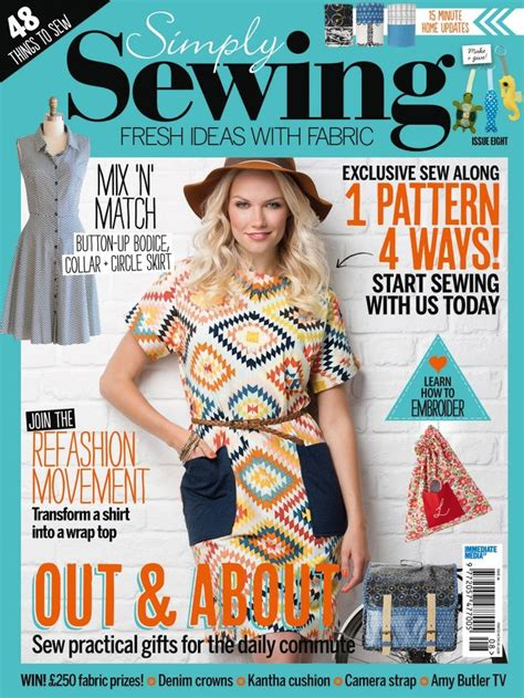 clothes pattern magazine 387 best sew dresses knits images on pinterest sew a