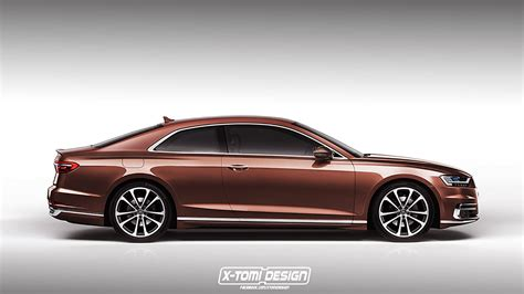 if only audi built this gorgeous a8 coupe the drive