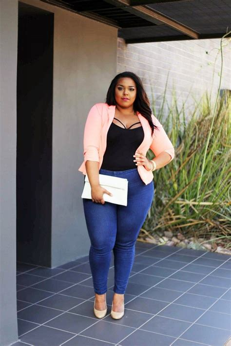 look professional and stylish in plus size