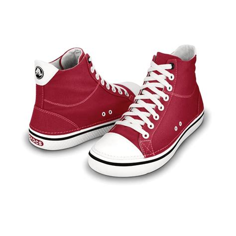 Are Crocs Really Comfortable by Crocs Hover Mid Casual Hi Top Trainer Style Shoes