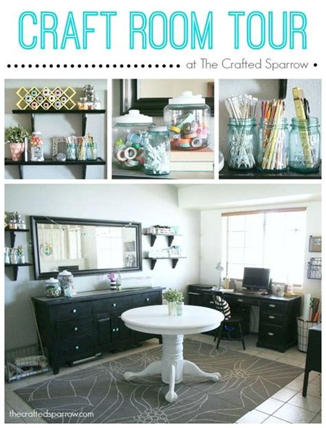 craft room tour offices craft storage and craft rooms on