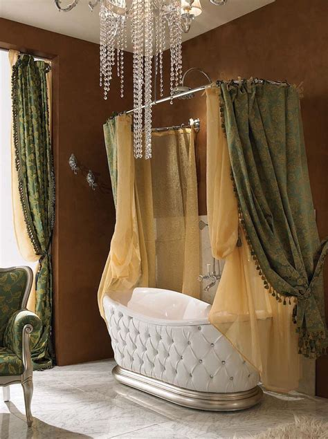 Designer Shower Curtains Decorating 50 Magnificent Luxury Master Bathroom Ideas Version