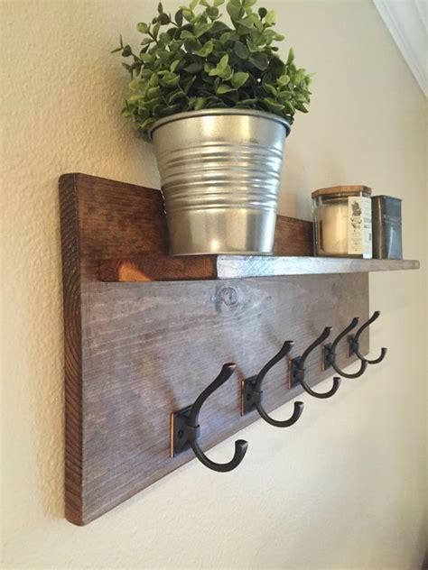 Diy Rack Shelf by Best 25 Diy Coat Rack Ideas On Wall Coat Rack