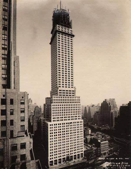 Chrysler Building Chicago Chrysler Building 1929 Vintage Ny
