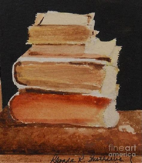 books painting by rhonda wetherbe
