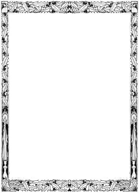graphic page borders clipart