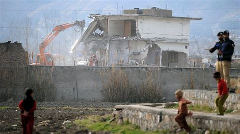 Osama Bin Laden House by Bin Laden S Hideout Demolished The Courier Mail