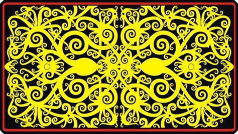 motif tato dayak kalimantan motif dayak 1 marioga tour travel