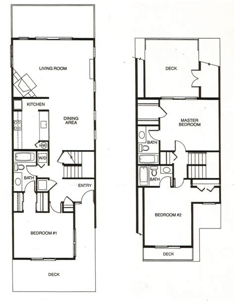 architecture townhouse designs and floor plans homes