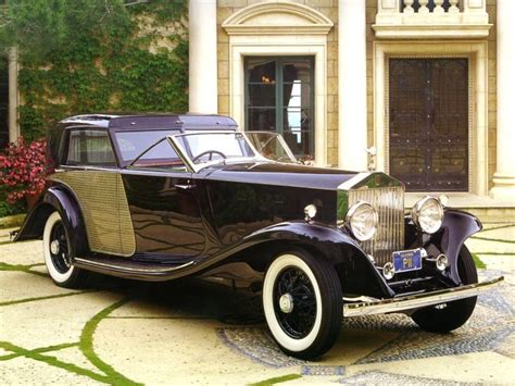 1930s phantom car 1930 rolls royce phantom ii brewster town car black fvr