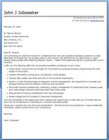 user experience cover letter resume downloads
