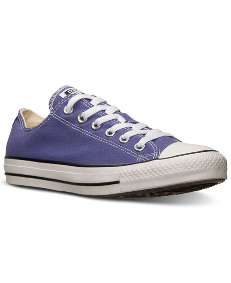 Sepatu Casual Converse Ii Low Ox Unisex Asli Import lyst converse s or s chuck ox casual