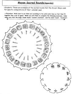 how to make a mayan calendar for museum work on space station paper dolls and