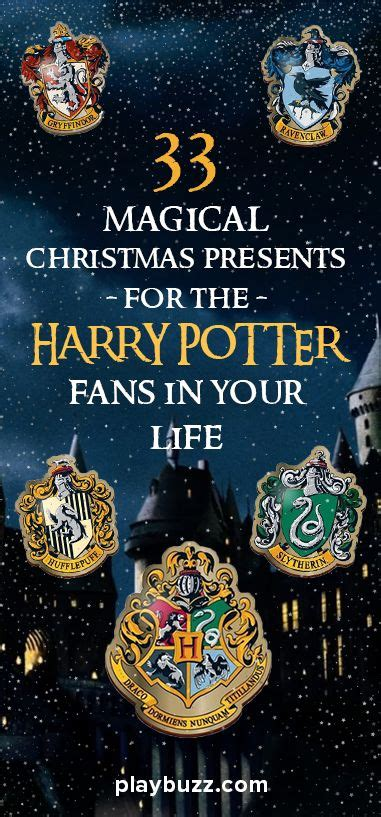 christmas gifts for harry potter fans 33 magical christmas presents for the harry potter fans in