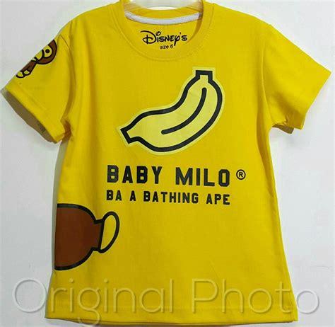 Kaos Baby Milo grosir baju anak grosir baju anak branded grosir baju
