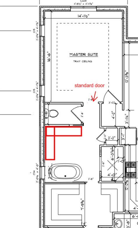 floor plan help need help with master bathroom floor plan