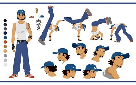 animation character layout character design for flash animation by doguras on deviantart