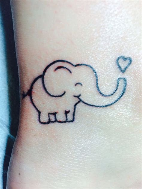 little elephant tattoo best 25 elephant tattoos ideas on