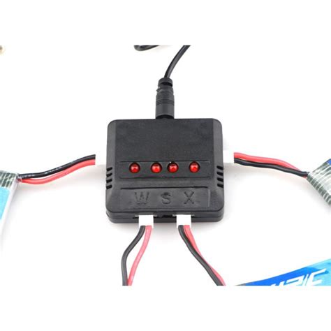 Battery Jjrc H31 400mah jjrc h31 rc quadcopter spare parts 4pcs 3 7v 400mah 30c battery and charger set x4a a13 sale