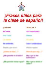 Frases utiles para la clase de espanol curriculum and instruction