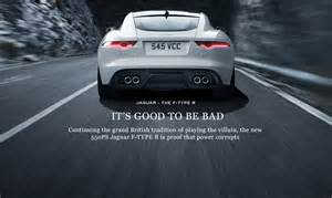 Jaguar To Be Bad Actors Jaguar And Its Advertisement And Marketing Evoloution