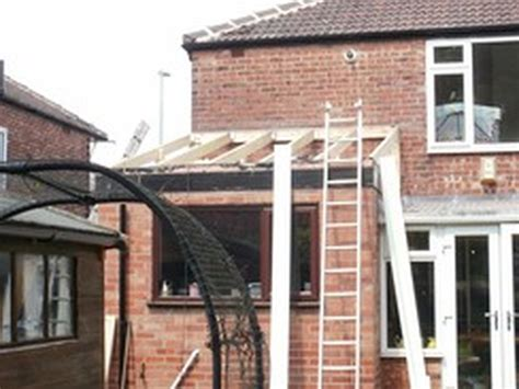 Flat Roof To Pitched Roof Pictures Allaspects Home Improvements 100 Feedback Window Fitter