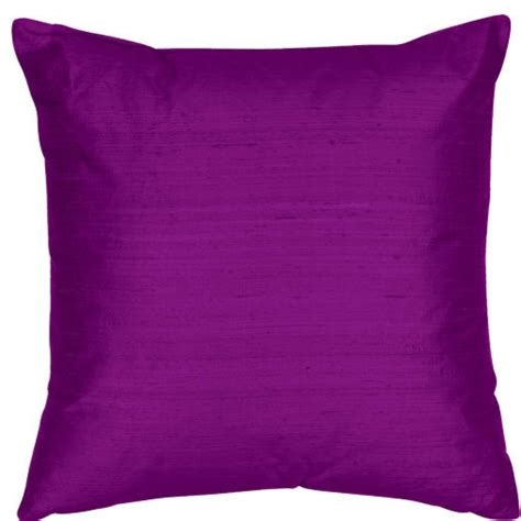 Purple Decorative Pillows by Bright Purple 18x18 Inch Silk Dupioni Square Poly Insert