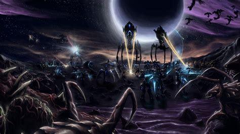 starcraft full hd wallpaper  background image
