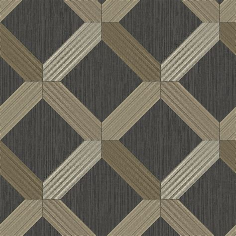 Holden lozenga diamond geometric glitter textured wallpaper 75551