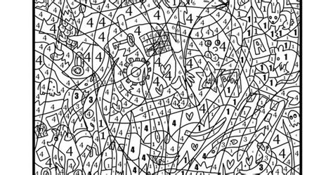 coloring pages hidden numbers color by number coloring page find the hidden objects