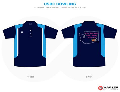 Youth Bowling Wooter Apparel Team Uniforms And Custom Sportswear Bowling Shirt Design Template