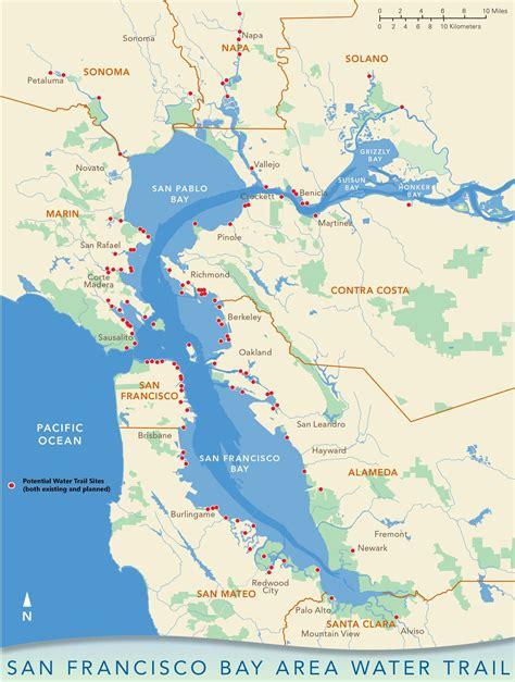 san francisco bay us map file san francisco bay area water trail vision map jpg