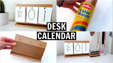 diy desk calendar diy desk calendar laurdiy and nim c inspired