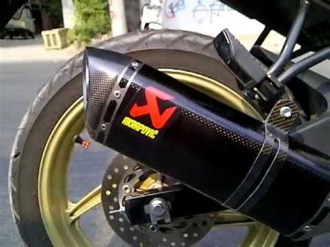 Alarm Motor Cbr 150 akrapovic all new cbr 150 carbon system layz motor