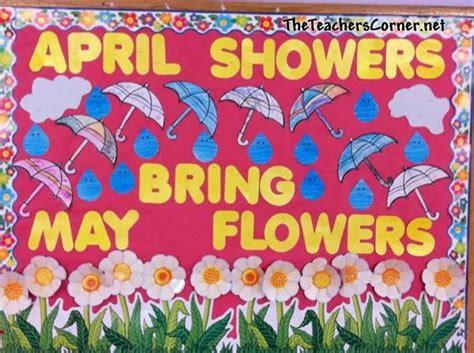 kindergarten themes for april and may 25 best april bulletin board ideas on pinterest