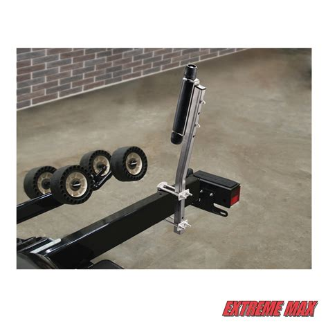 boat trailer rollers and guides extreme max 3005 3825 side mount boat trailer roller guide