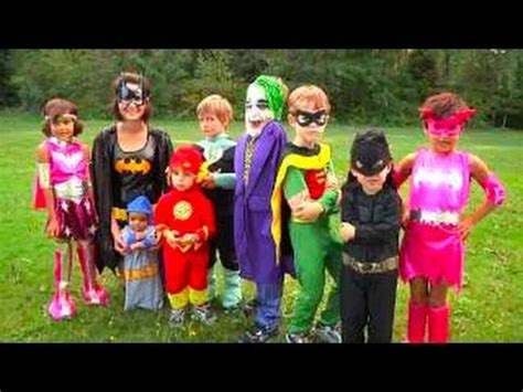 halloween costumes  kids superheros youtube