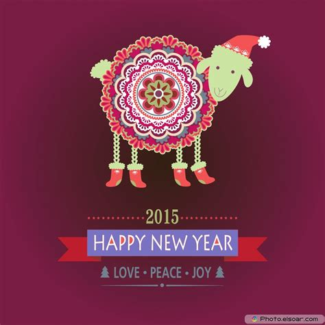 new year 2015 sheep 2015 year of the sheep with new designs elsoar