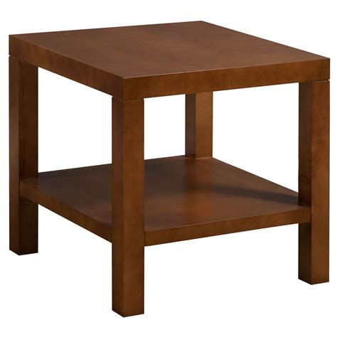 24 x 24 table hbf used 24 215 24 veneer end table cherry national office