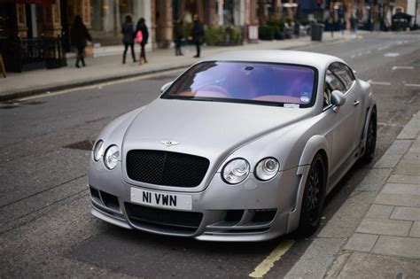 matte blue bentley light matte grey bentley cars