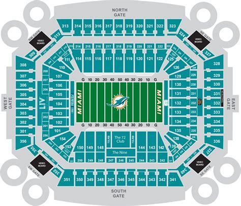dolphin stadium seats rock stadium miami dolphins football stadium