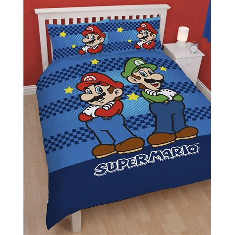 character bedding official nintendo mario brothers bedding duvet cover